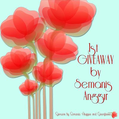 1st Giveaway by Semanis Anggur