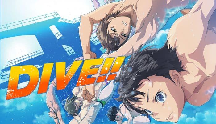 جميع حلقات انمي Dive!! مترجم على عدة سرفرات للتحميل والمشاهدة المباشرة أون لاين جودة عالية HD