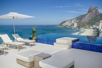Hotéis com piscina no Rio de Janeiro.