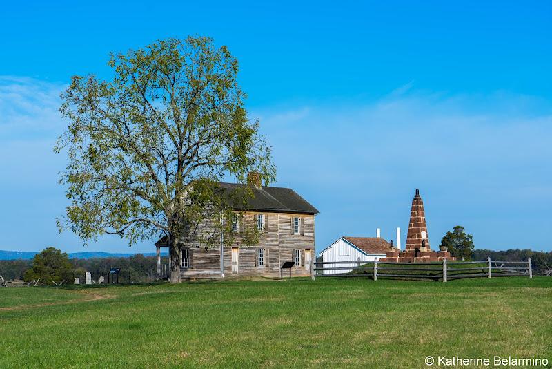 Henry House Manassas National Battlefield Park Northern Virginia