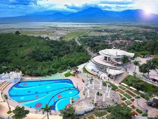 Lokasi dan Rute Eling Bening Ambarawa Semarang Jawa Tengah