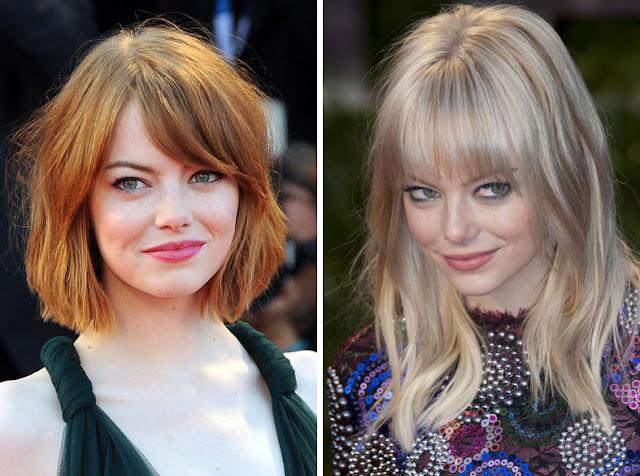 Эмма Стоун рыжая и блондинка