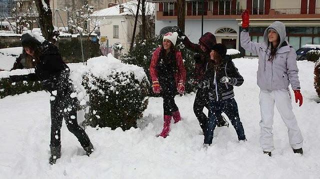 Κλειστά αύριο πολλά σχολεία σε όλη την χώρα λόγω χιονιά