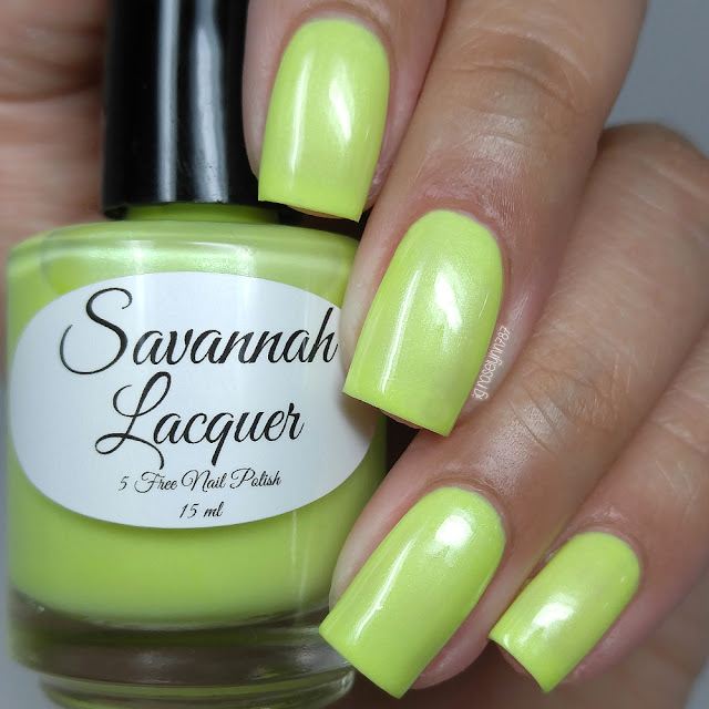 Savannah Lacquer - Banana Taffy