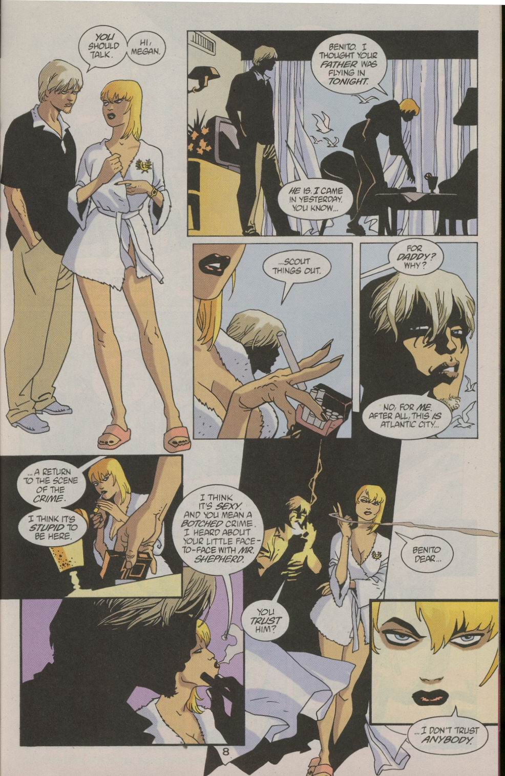 Read online 100 Bullets comic -  Issue #23 - 10