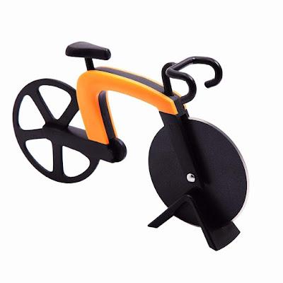 Regalos originales para ciclistas: Cortapizzas bicicleta
