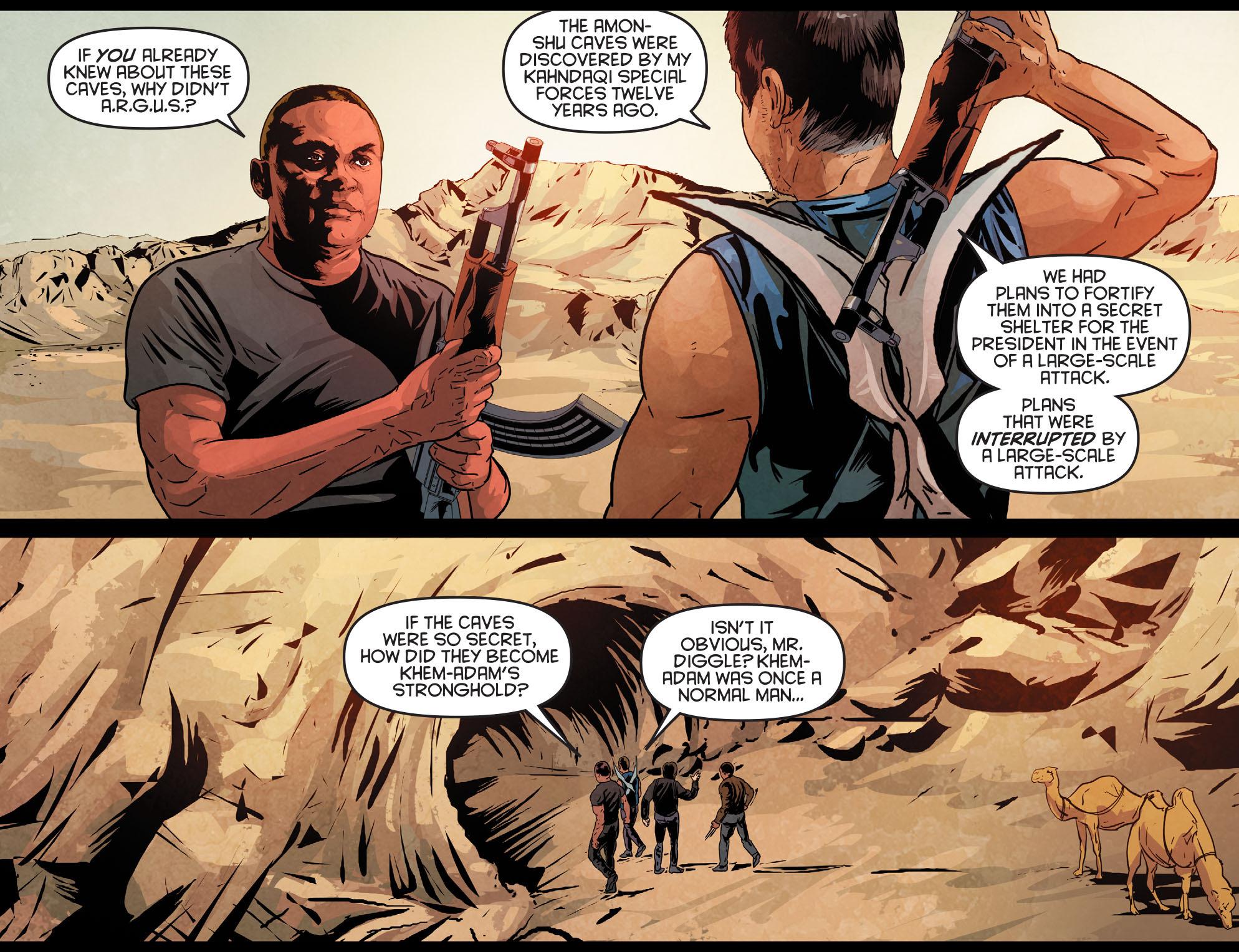 Read online Arrow: Season 2.5 [I] comic -  Issue #12 - 12