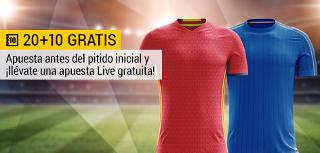 bwin promocion 10 euros España vs Italia 2 septiembre