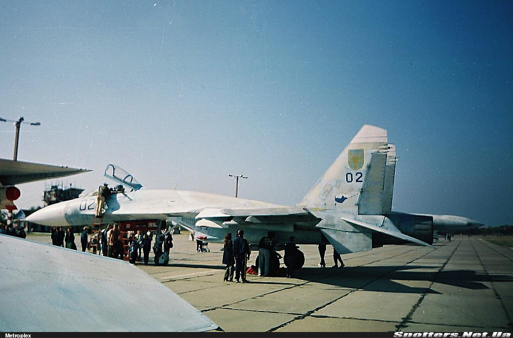 Су-27П бортовий номер 02 «синій»