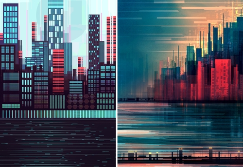 00-Scott-Uminga-Architecture-with-Linear-Cityscape-Paintings-www-designstack-co