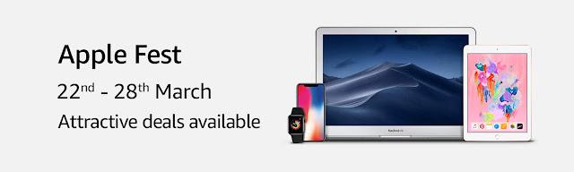 Amazon Apple fest offers