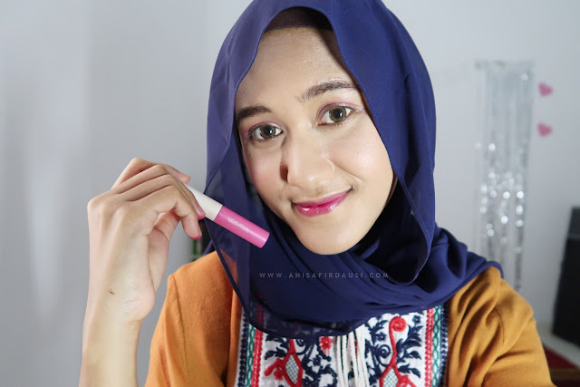 Review Wardah Cheek & Lip Tint 02 My Baerry