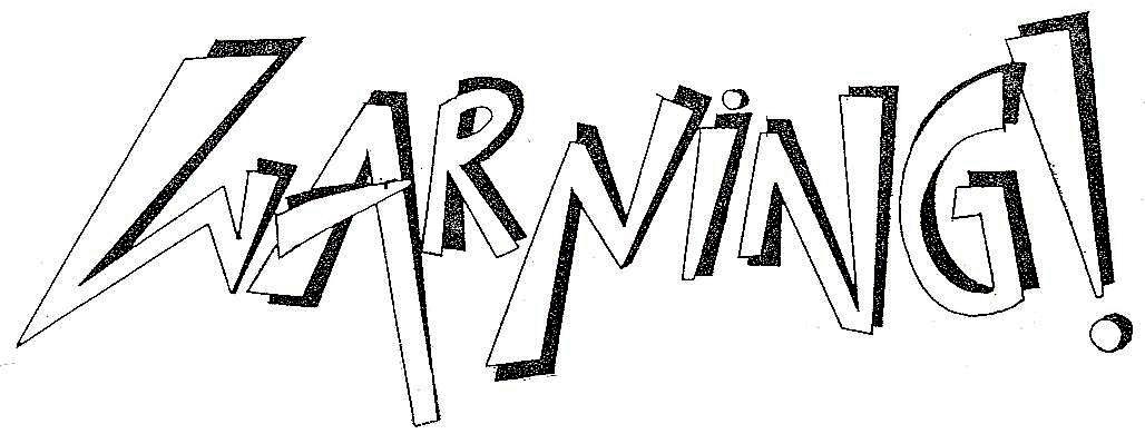 Portugal 80s Metal: WARNING! FANZINE
