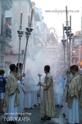 Procesión Morenita de Linares