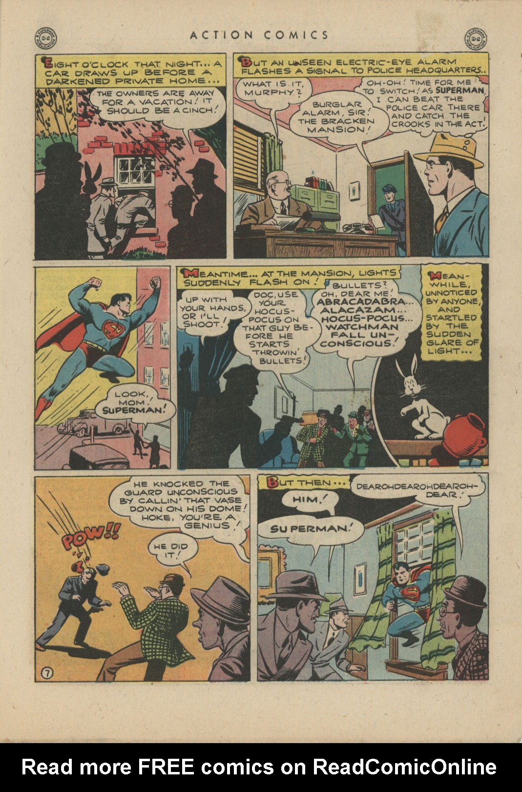 Read online Action Comics (1938) comic -  Issue #83 - 9