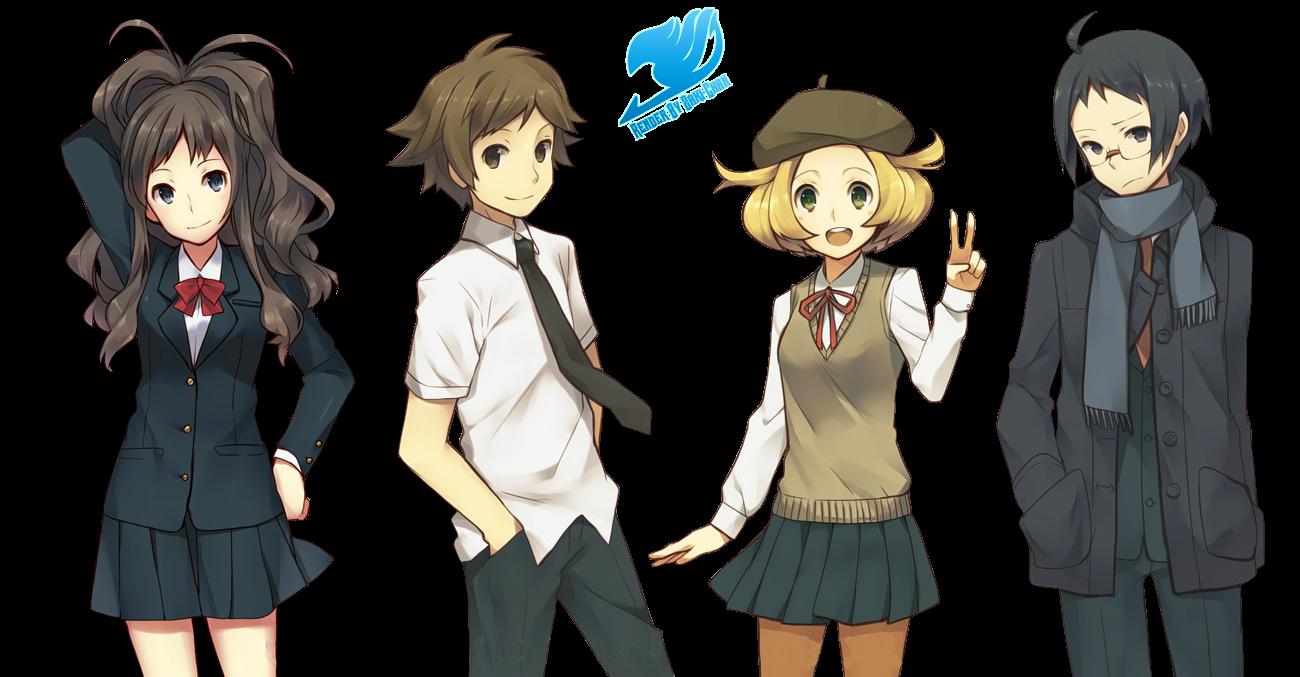 Render grupal Pokemon Black&White (Seifuku)