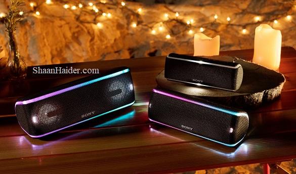 Sony SRS-XB41, SRS-XB31, SRS-XB21 Waterproof and Dustproof EXTRA BASS Wireless Speakers - Features, Specs, Price in Saudi Arabia
