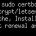 Installing Certbot in Apache on Ubuntu 14.04 (Trusty) Free SSL