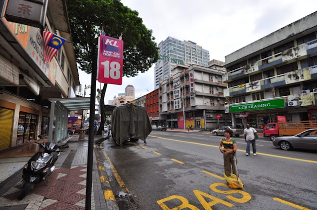 Station 18 of Kuala Lumpur Hop-On Hop-Off bus