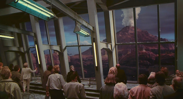 Mars mountain - Total Recall 1990 movie image