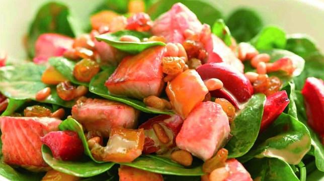 Resep Salad Salmon