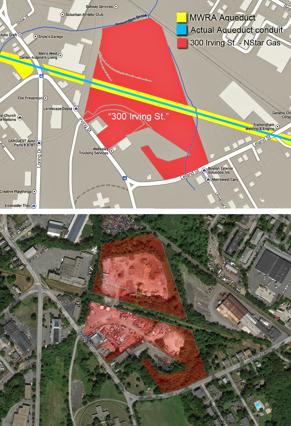FRAMINGHAM MATTERS: 300-350 Irving Street: a continuing ...