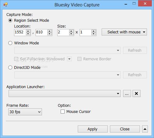 تحميل برنامج مراقبة الكمبيوتر مجانا Bluesky Video Capture