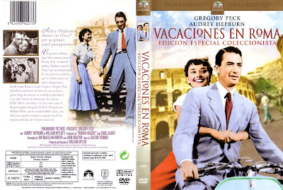 Carátula dvd: Vacaciones en Roma / Roman Holiday