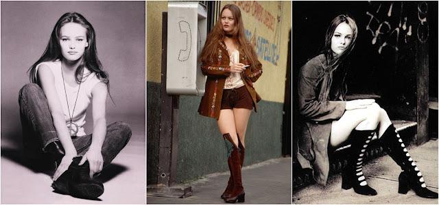 Moda anos 90 - O estilo de Vanessa Paradis