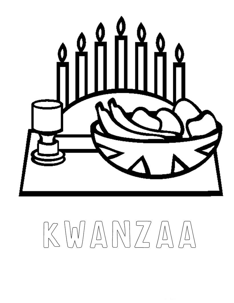 Quanza coloring pages ~ Kwanzaa Coloring Page 022511» Vector Clip Art - Free Clip ...