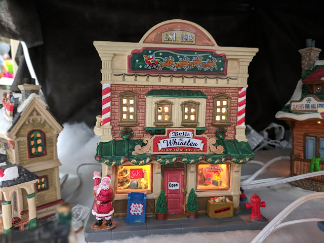 bells and whistles christmas decor lemax christmas village