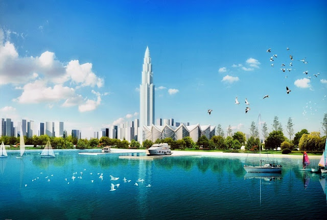 Tháp tài chính Phương Trạch cao nhất Việt Nam