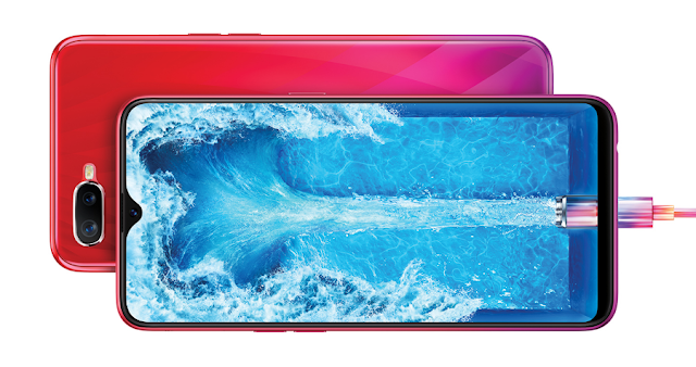 Image result for oppo f9 blue