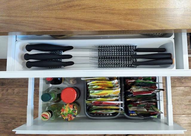 wkłady do szuflad ikea kuchnia