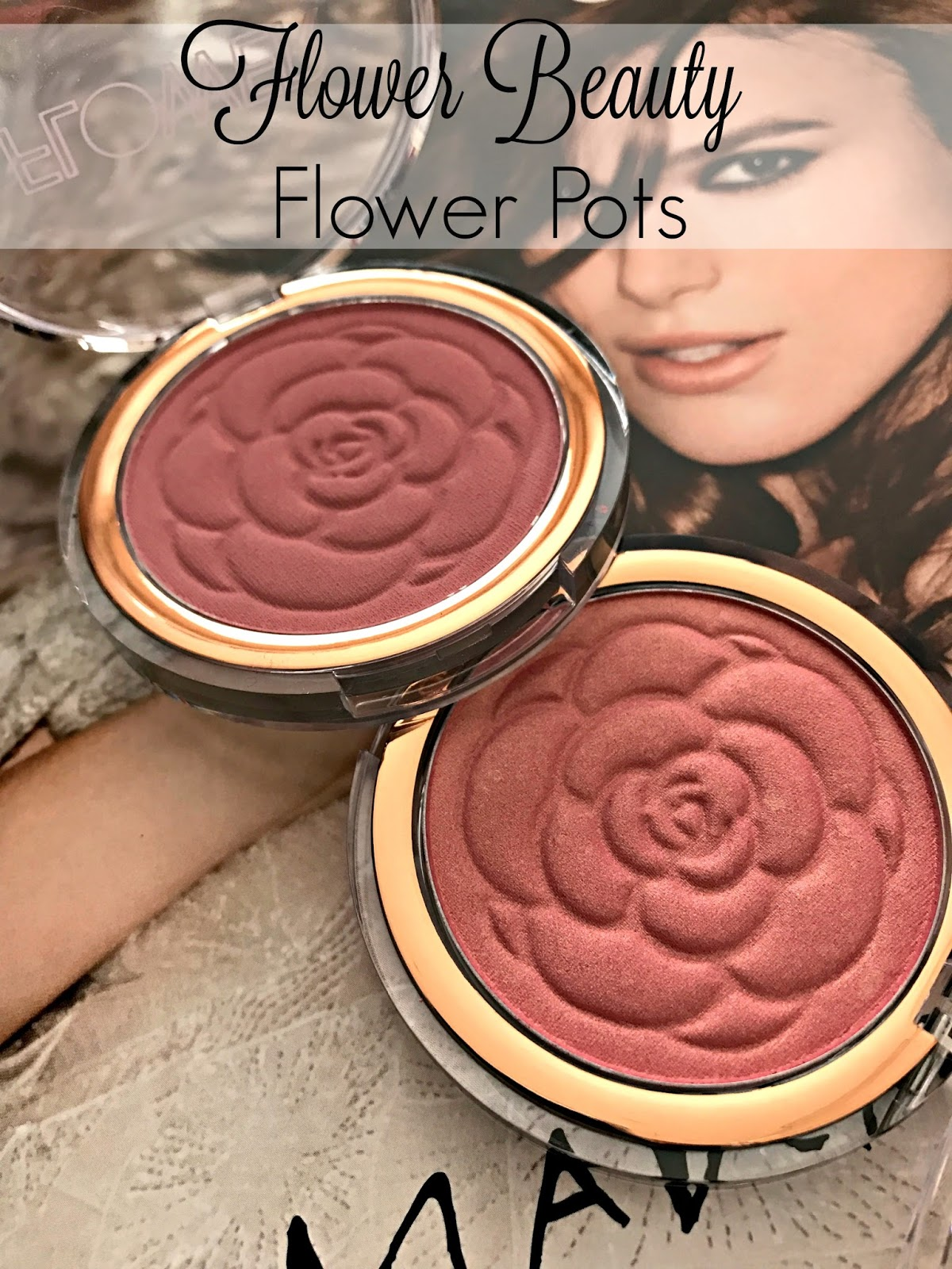 Flower beauty flower pots blushes in sweet pea warm hibiscus red in january i fell in love with the newest blush palette offering from maybelline you can see that review post here today i have two more blushes that i izmirmasajfo