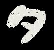 カタカナのペンキ文字「タ」