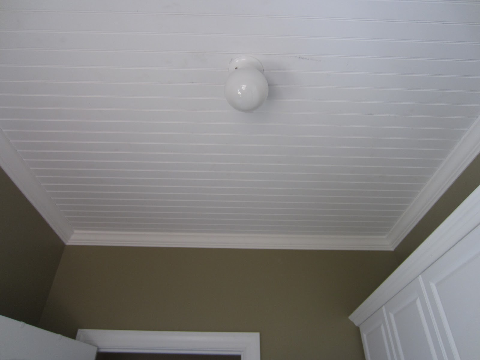 Tips to Paint a Bead board ceiling