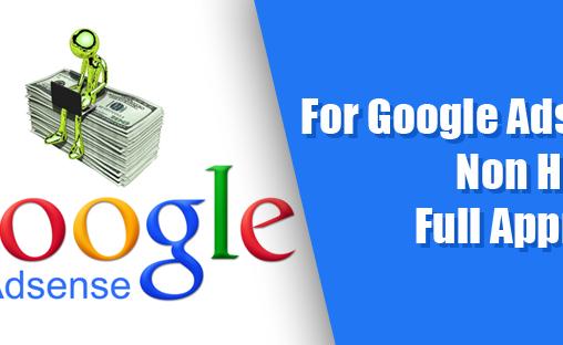 Cara Agar Sukses Daftar Google Adsense Non Hosted Full Approve