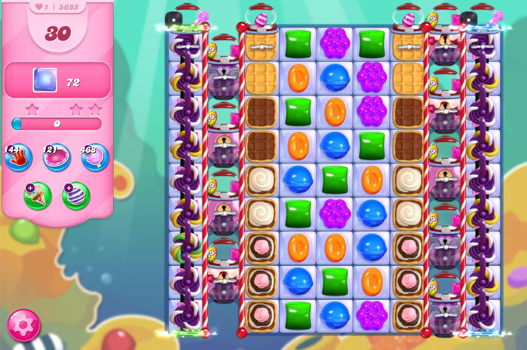 Candy Crush Saga level 5685