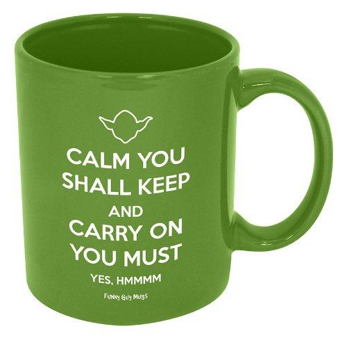 Funny Coffee Mugs And Mugs With Quotes Yoda Starwars Quote Novelty Coffee Mug