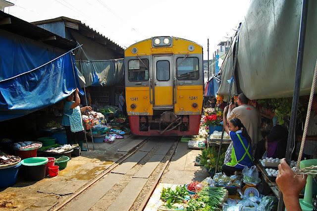 Thailand's Railway Market