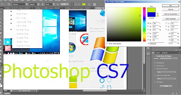 Photoshop CS7 - Tải Adobe Photoshop full mới nhất 2018 d