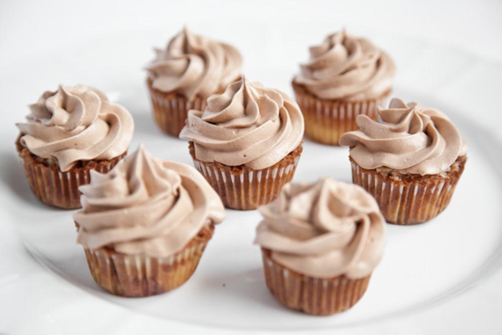 Dolci e Desserts: Cupcake alla Nutella