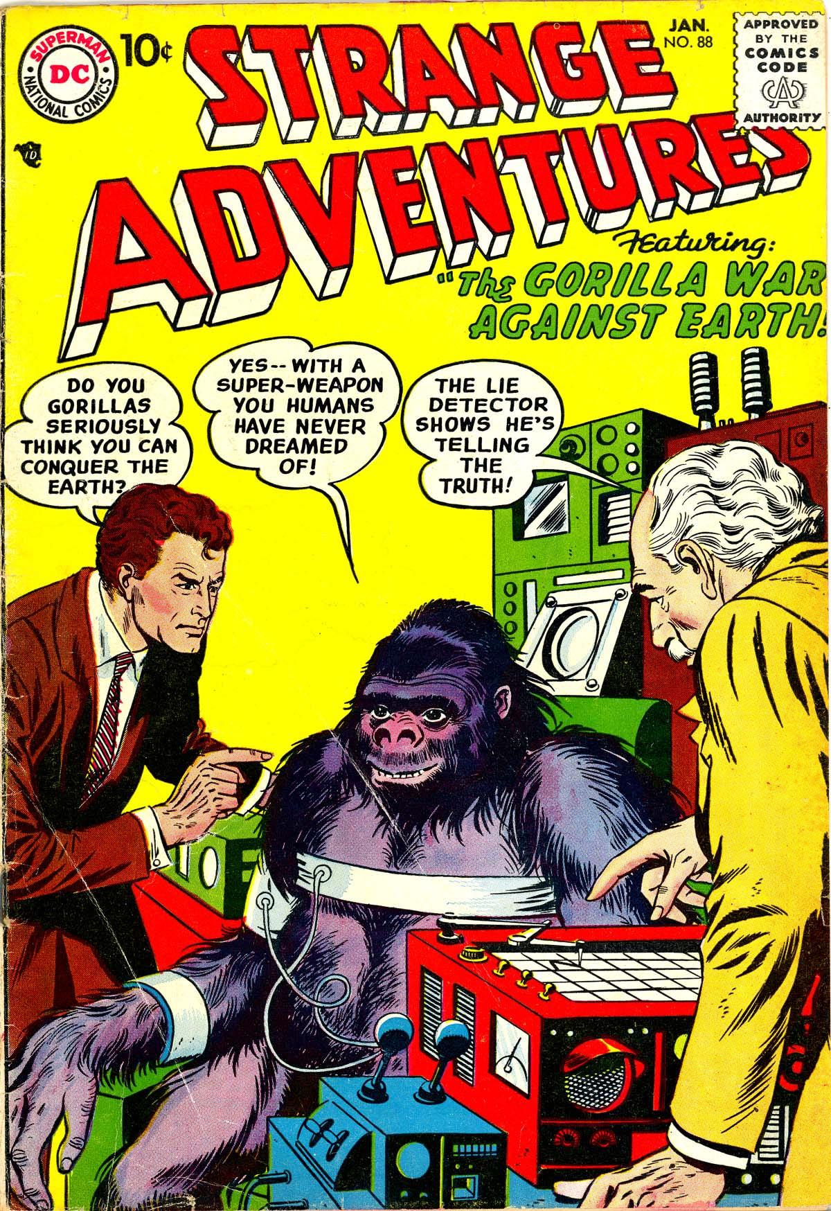 Strange Adventures (1950) issue 88 - Page 1