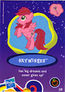 My Little Pony Wave 8 Skywishes Blind Bag Card