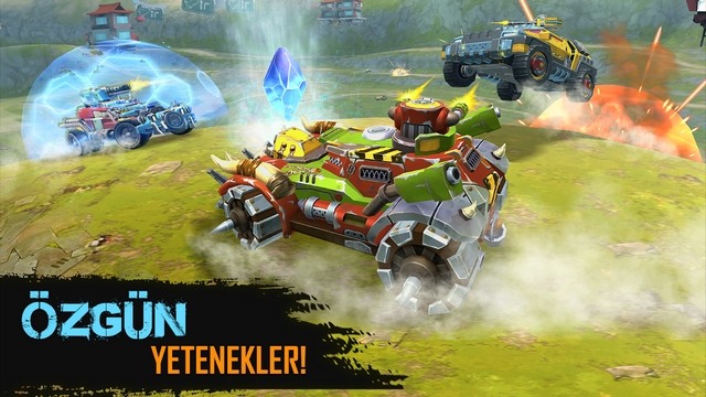 cars of war hile apk