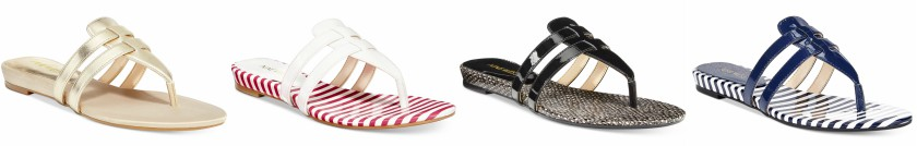 Nine West Outside Thong Sandals $12 (reg $49)