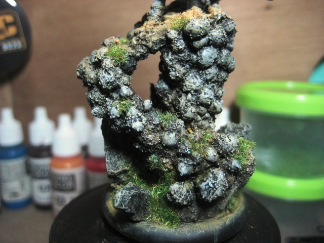 WIP - Janissa Stonehide's custom base painted photo