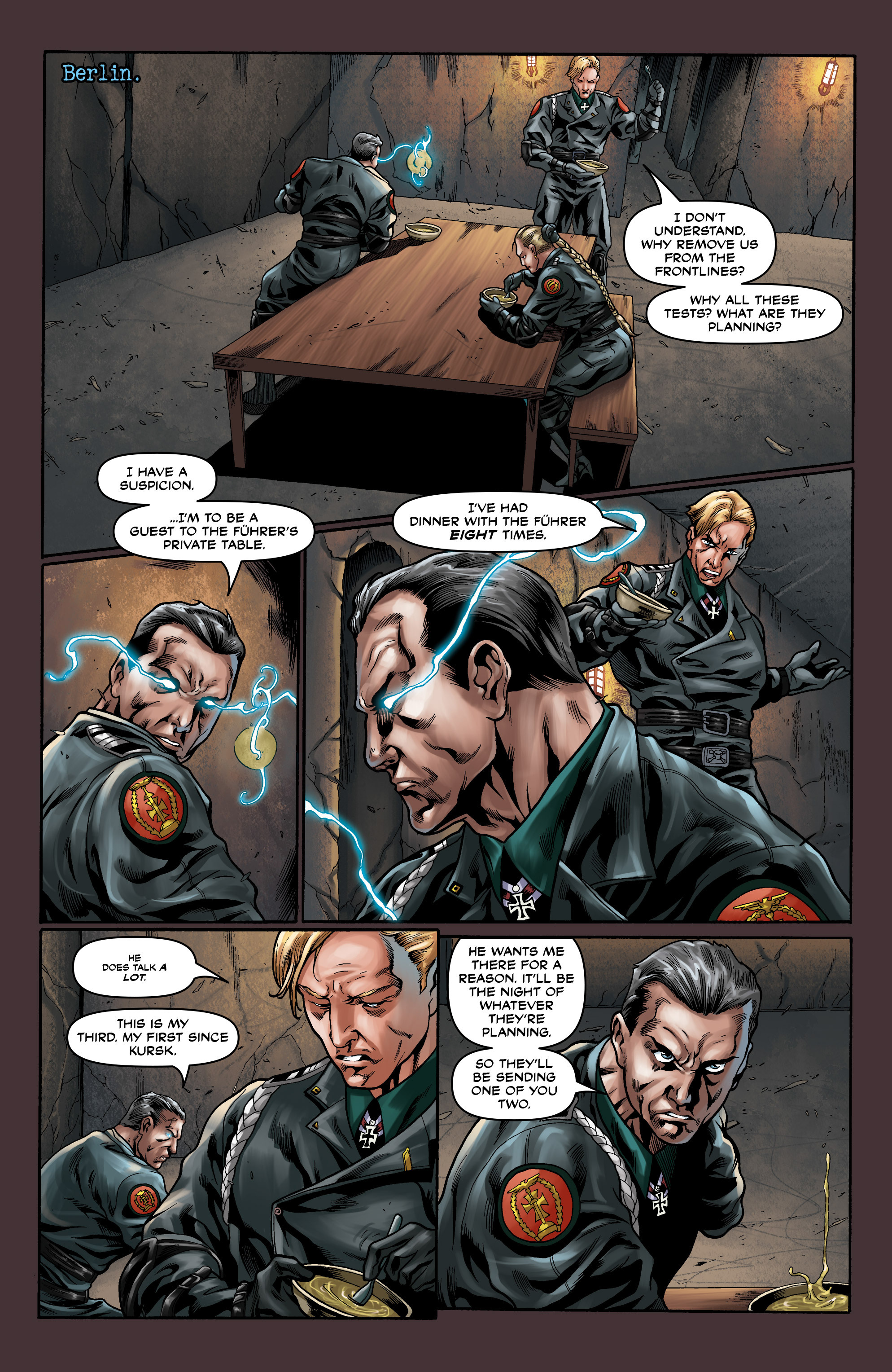 Read online Uber comic -  Issue #10 - 16