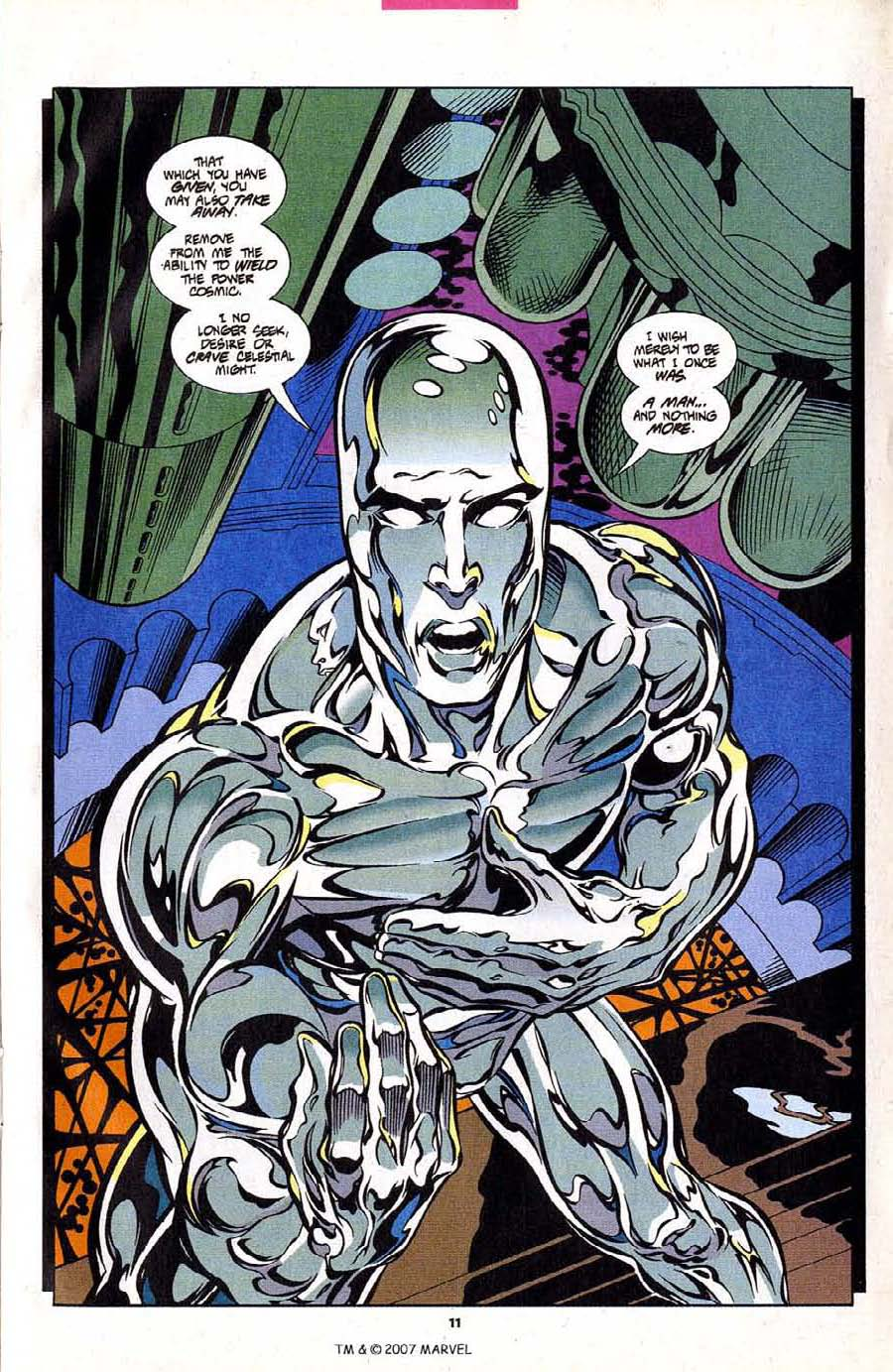 Read online Silver Surfer (1987) comic -  Issue #102 - 13
